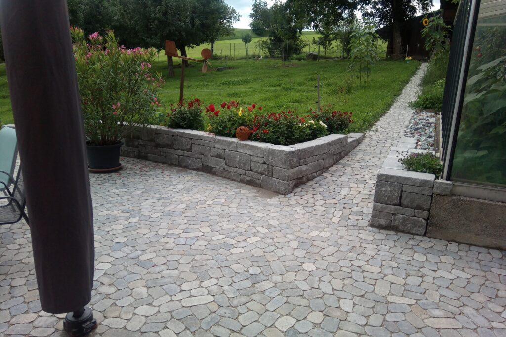 Gartensitzplatz Melchnau
